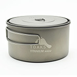 TOAKS -  Titanium 900ml Pot 130mm