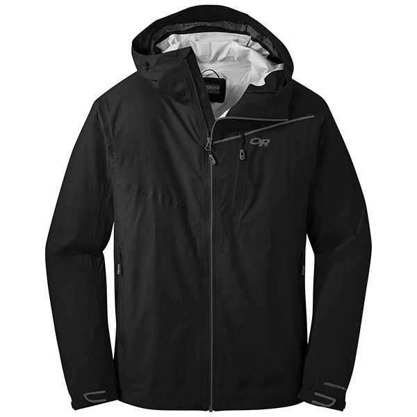 Outdoor Research - Veste imperméable Men's Interstellar Jacket (Black/Charcoal)
