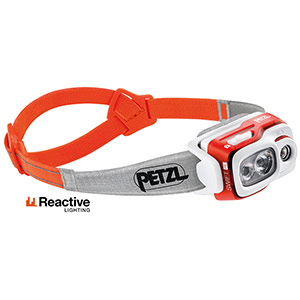 Petzl - Lampe frontale rechargeable Swift RL