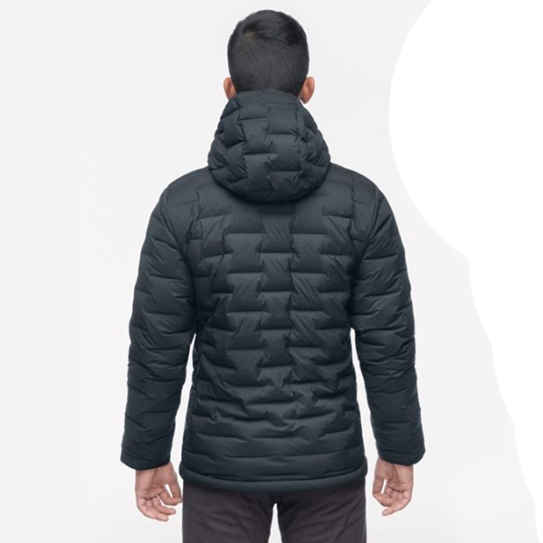 Mountain Hardwear - Doudoune Homme Super DS StretchDown Hooded Jacket Black