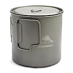 TOAKS - LIGHT Titanium 650ml Pot