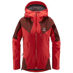 Haglöfs - Veste femme L.I.M Touring PROOF (Hibiscus red/maroon red)