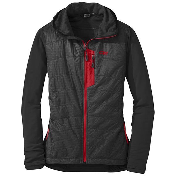 Outdoor Research - Veste Women's Deviator Hoody (Black/Flame)