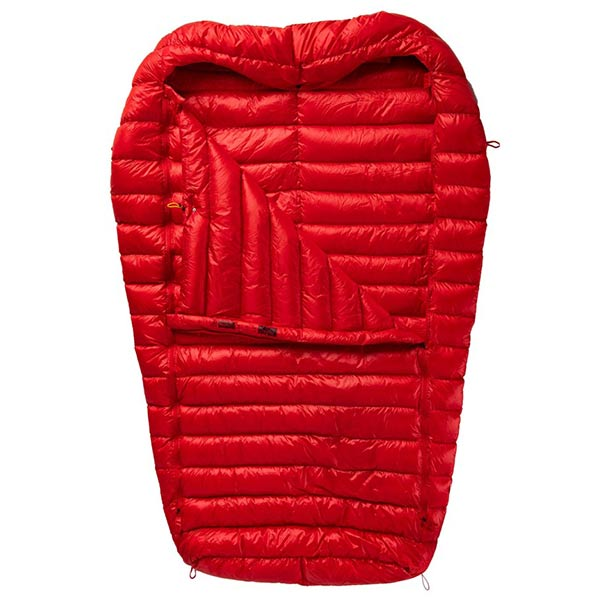 Pajak - Sac de couchage double Quest 4Two (Red)