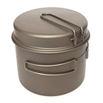 TOAKS - Titanium 1600ml Pot with Pan